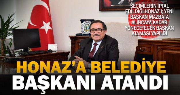 Vali Yardımcısı Turan Atlamaz, 2 Haziran'a kadar Honaz'ın yeni başkanı