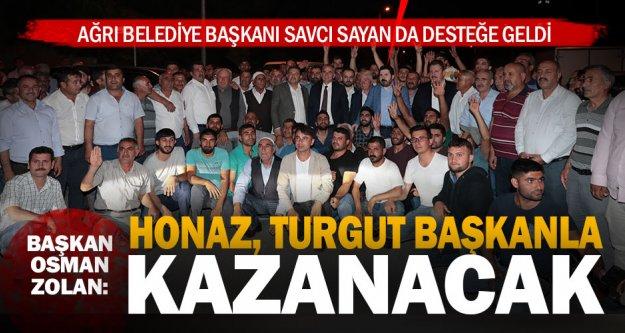 Başkan Zolan: Honaz, Turgut Başkanla kazanacak