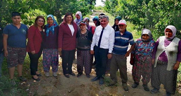 Çerçioğlu'ndan seçimlerin yenileneceği Honaz'da Kepenek'e destek