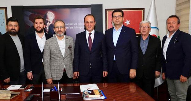 DENİB'den Pamukkale Belediye Başkanı Örki'ye ziyaret