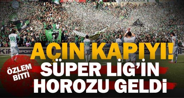 Denizlispor, 9 yıl aradan sonra Süper Lig'de