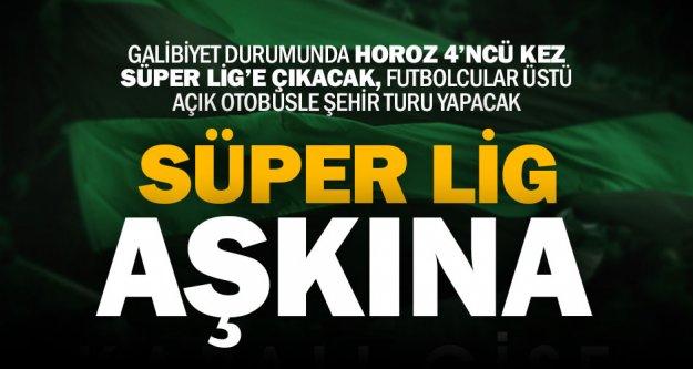 Denizlispor Süper Lig için sahada