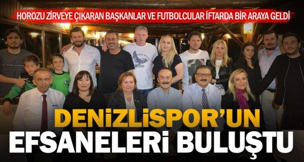 Denizlispor'un efsane yönetici ve futbolcuları buluştu