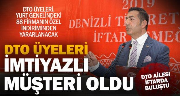 DTO ailesi iftarda buluştu, Başkan Erdoğan indirim müjdesi verdi