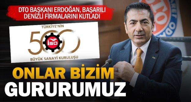 İSO 500'deki 12 firmaya Erdoğan'dan kutlama