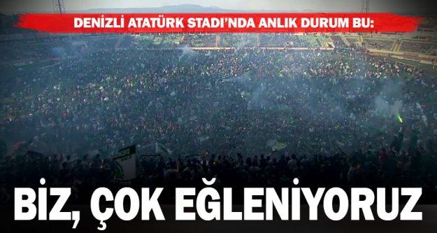 Taraftar sahaya indi, Süper Lig coşkusu zirvede