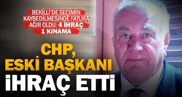 CHP, eski başkanla birlikte 4 partiliyi ihraç etti