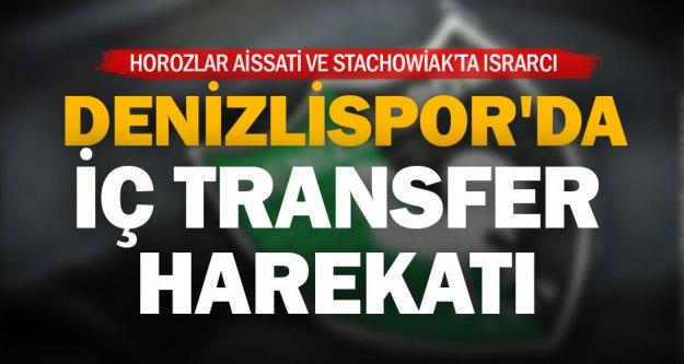 Denizlispor'da iç transfer harekatı