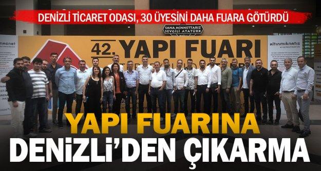 DTO üyeleri İstanbul'da yapı fuarına gitti