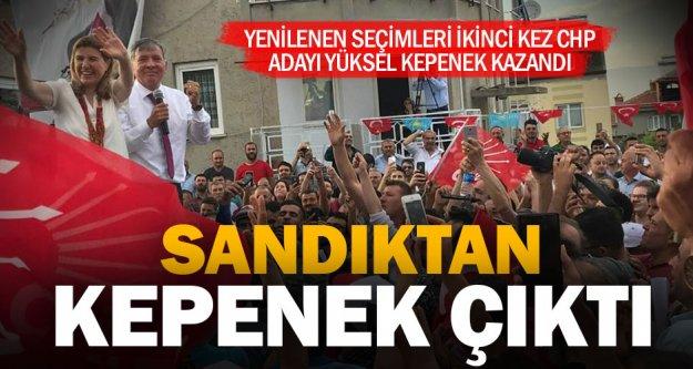 Honaz'da seçimleri CHP adayı Kepenek kazandı