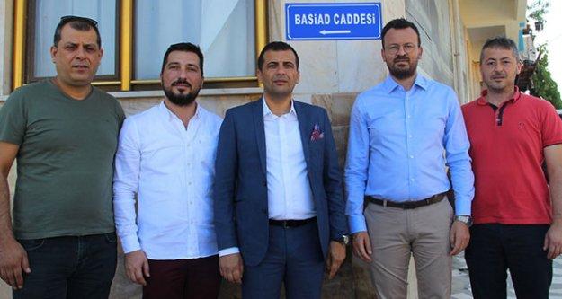 Babadağ'da iş insanları derneği BASİAD ismi caddeye verildi