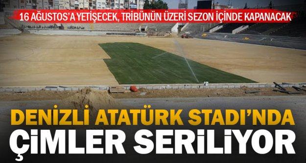 Denizli Atatürk Stadı'nda sona gelindi