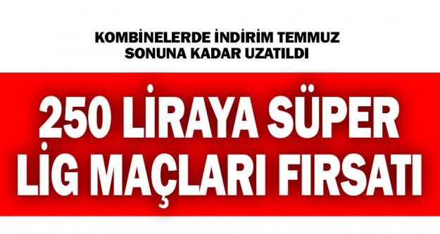 Denizlispor'da kombinede indirim kampanyası uzatıldı