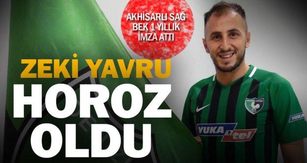 Denizlispor'da Zeki imzaladı
