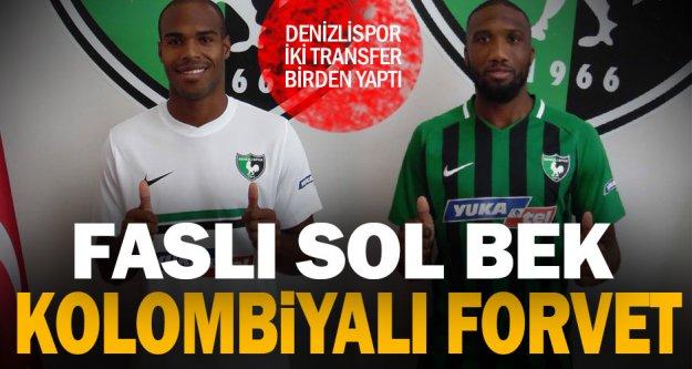 Denizlispor'da 2 transfer birden