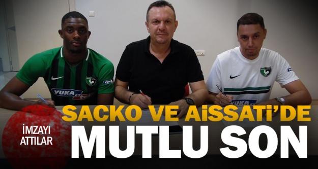Denizlispor'da Sacko ve Aissati imzayı attı