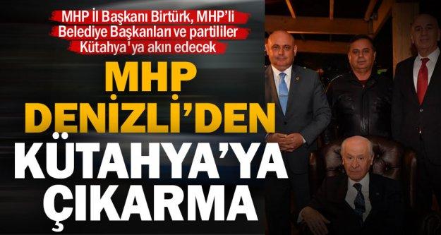 MHP İl Başkanı Birtürk, MHP'li Belediye Başkanları ve partililer Kütahya'ya akın edecek