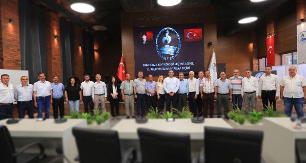 Muhtarlar Pamukkale Kent Konseyi delegelerini seçti