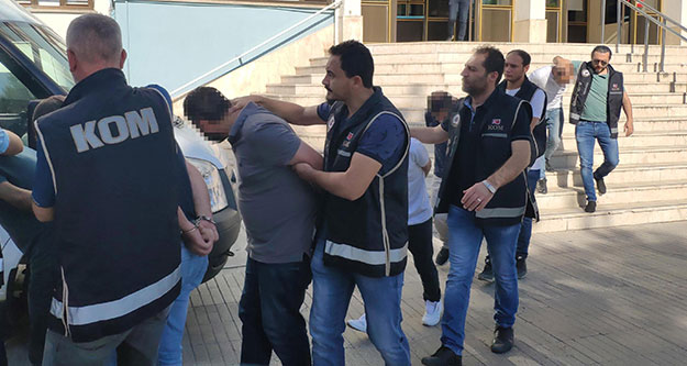Sanal bahis operasyonunda 13 kişi adliyede