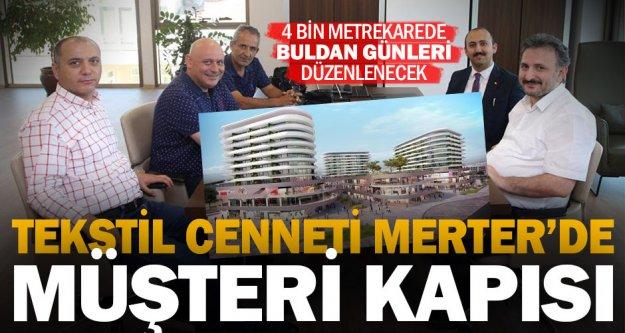 Tekstil Merkezi Merter'de 4 bin metrekarelik alan Buldan Belediyesi'ne tahsis edildi