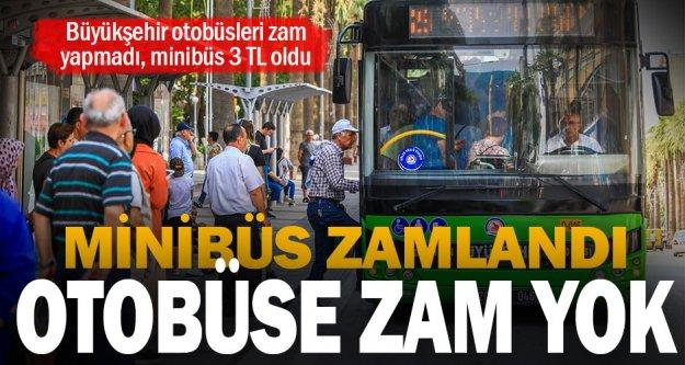 Büyükşehir otobüslerinde ücret artışı yok