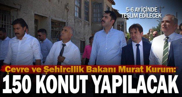 Çardak ve Bozkurt'ta 150 deprem konutu yapılacak