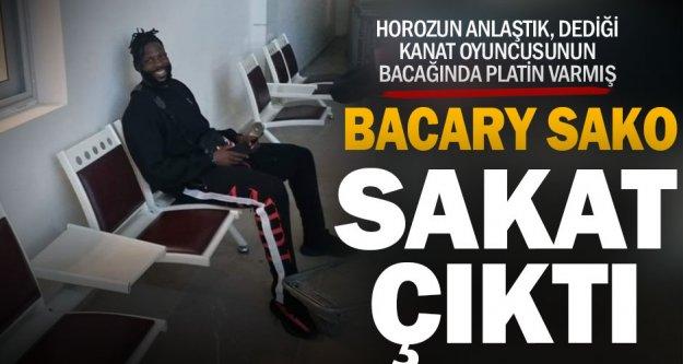 Denizlispor Bacary Sako'dan vazgeçti