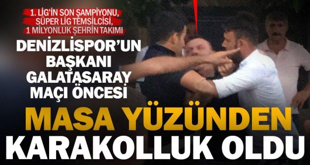 Denizlispor Başkanı Ali Çetin, rezervasyon yüzünden karakolluk oldu