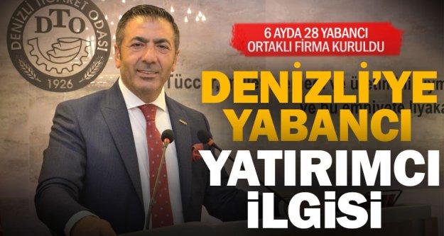 DTO Başkanı Erdoğan: 6 ayda 28 yabancı ortaklı firma kuruldu