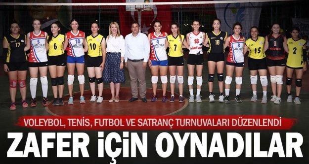 Merkezefendi Belediyesi'nin 30 Ağustos Zafer Kupası turnuvaları sona erdi