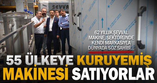 55 ülkeye makine satan işletmeye Erdoğan'dan ziyaret