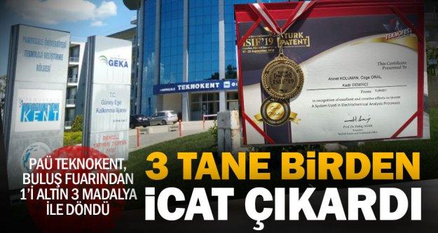 Buluş fuarında PAÜ'ye 1 altın 2 bronz madalya