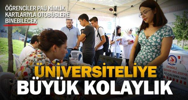Büyükşehir'den PAÜ'lü öğrencilere büyük kolaylık