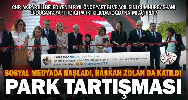 CHP, 8 yıl önce yapılan parkı Kılıçdaroğlu'na açtırdı iddiası sosyal medyanın gündeminde: #HazıraKonucuCHP