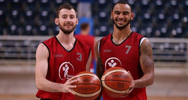 Denizli Basket'in yabancı oyuncuları iddialı