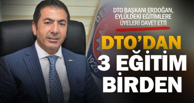 DTO Başkanı Erdoğan, üyelerini eğitimlere davet etti