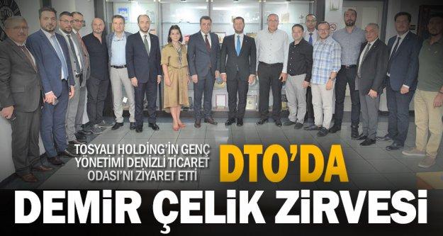 DTO, demir çelik sektörü devi Tosyalı Holding'in yöneticilerini ağırladı