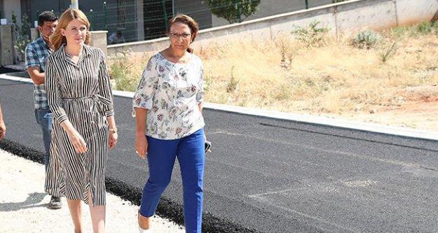 Merkezefendi'de 11 bin ton asfalt döküldü