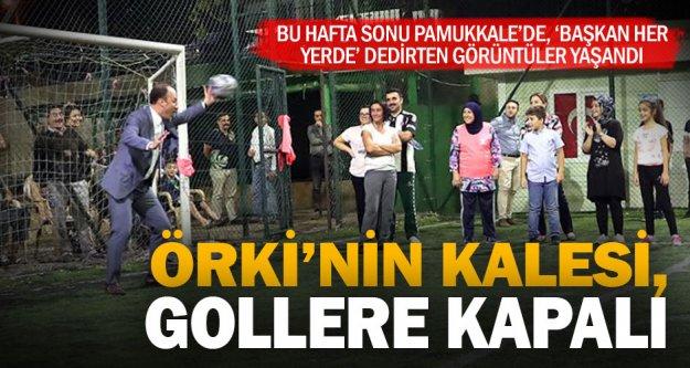 Pamukkale Belediye Başkanı Avni Örki, hafta sonu mahallede adım atılmadık yer bırakmadı