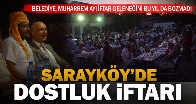 Sarayköy Belediyesi'nden Muharrem ayı iftarı