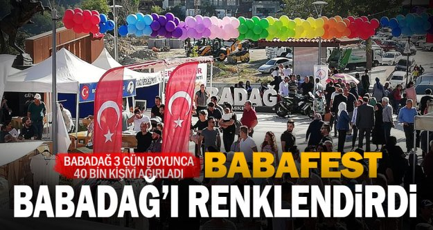 Babadağ, Babafest ile hareketlendi