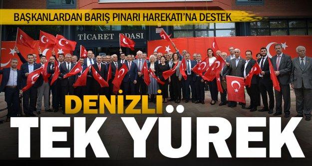Başkanlardan Barış Pınarı Harekatı'na destek