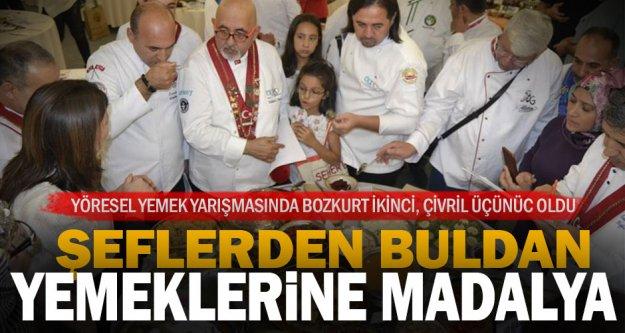 Buldan'ın yöresel yemeği madalya aldı