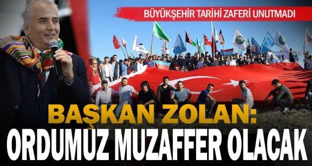 Büyükşehir, tarihi değiştiren Kazıkbeli Savaşı'nı unutmadı