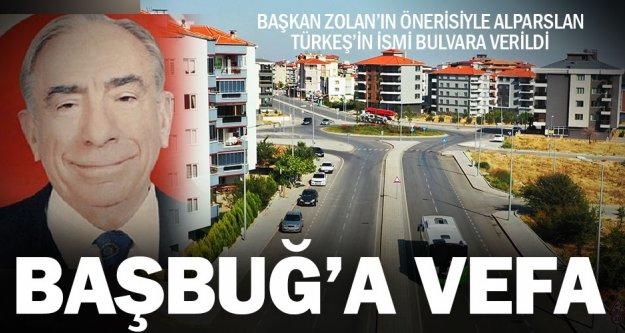 Büyükşehir'den Alparslan Türkeş'e vefa