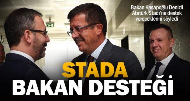 Denizli Atatürk Stadı'na bakanlık desteği