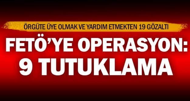 Denizli'de FETÖ'ye 9 tutuklama