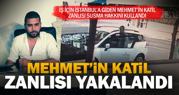 İş için gittiği İstanbul'da öldürülen Mehmet Sarıtaş'ın katil zanlısı yakalandı