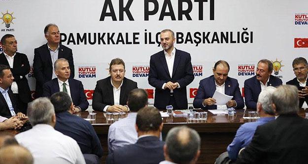 Kandemir'den Ak Parti Pamukkale teşkilatına övgü