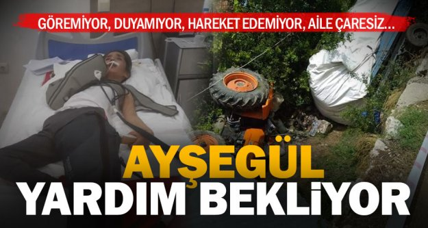 Kaza kurbanı lise öğrencisi Ayşegül için yardım kampanyası